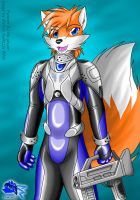 Another sci-fi outfit design by Otakuwolf