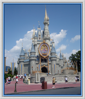 Cinderella Castle Front by WDWParksGal