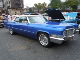 Classic Cadillac Convertible by Brooklyn47