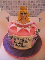 Princess Jessica's Cake by gertygetsgangster