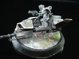 40k Jetbike Mini Dio by ARMORMAN