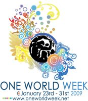 One World Week - Logo by FreddyC