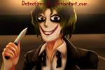 The Joker - How he got those scars by Detective-May