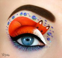 Foxy eye by scarlet-moon1