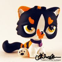 Sona custom Littlest Pet Shop toy by thatg33kgirl