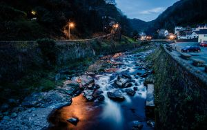 Lynmouth by llemonthyme