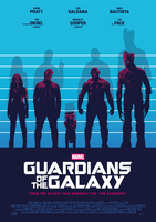 USUAL GUARDIANS OF THE GALAXY Poster Art (1/2) by RicoJrCreation