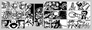 Miiverse Drawings by Lwiis64