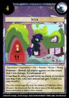 Nyx card by Trivial1888