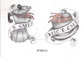 Tattoo flash traditional XII by Kobraxxx