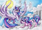 For the fate of Equestria by Lunar-White-Wolf