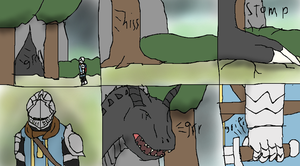 Dark Souls comic, A special soul Page 3 by TheSpiderAdventurer
