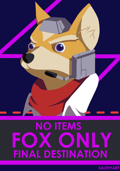 NO ITEMS, FOX ONLY, FINAL DESTINATION by salthyart