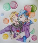 Aiden y Kwan by Sury475
