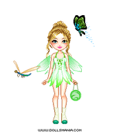 Tinkerbell Doll by GreenDayGirl18