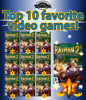 TOP 10 FAVORITE GAMES by MarkProductions