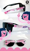 Songs Glasses by Bobsmade