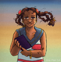 Bookworm Victorious by ErinPtah