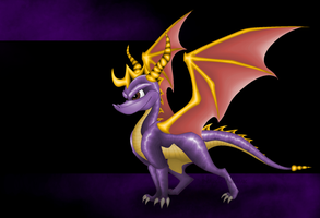 Spyro the Dragon by HaylieNowak