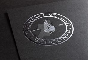 The New England Schooner Logo by Sith4Brains