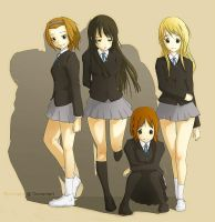 K-on by Renevatia