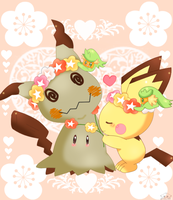 I love mimikyu 7 (colors)