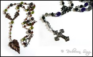 Rosary-Style Necklaces by ElvenstarArt