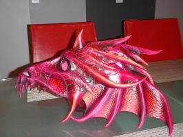 Dragon queen mask side by Red-Dragon-Lord