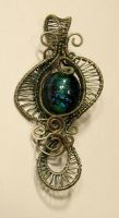 Woven Wing Pendant 6.7.13 by Artsee1