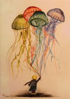 Jellyfish Dreams by TakeASecondGlance