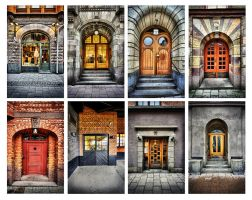 Street Doors  II by carlzon