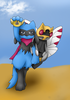 PMD-Team Black Souls by AtomicClaw