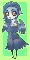 Bandaged Bluebird Auction adopt by Morthern