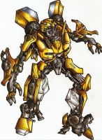 Bumblebee by Ronniesolano