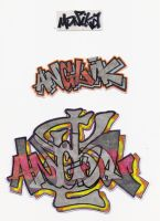 Stickers 46 by VHS-Guri