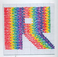 "the letter ""R"" by rosie-etc"