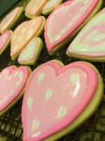 Valentine's Day Cookies by Rose15r15
