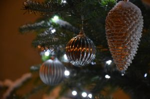 christmas decoration by mimose-stock