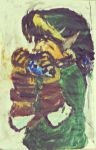 {Link Playing The Ocarina} by SirNearlyHeadless