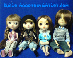 Pullip Family Colour ID by sugar-noor