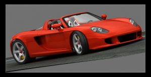 Porsche Carrera GT WIP 7 by mmajestik