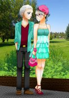 Date At The Park by junyoorin