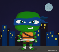 TMNT Little Leonardo by KellerAC