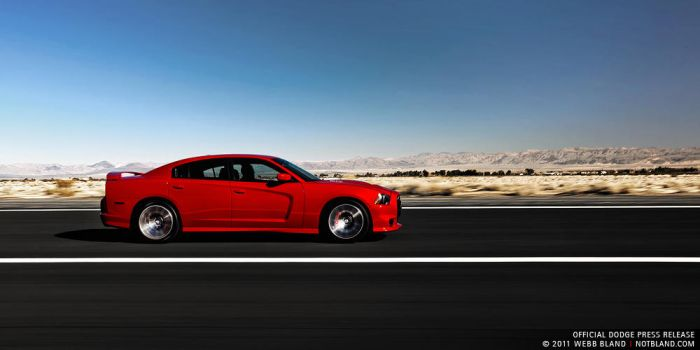 2012 Charger SRT8 5, Press Kit by notbland