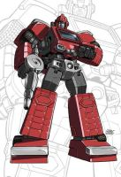 IDW G1 Card - Ironhide by GuidoGuidi