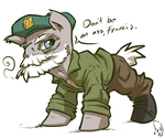 Don't be an ass, Francis. by atryl