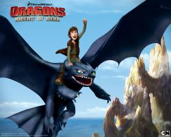 Hiccup and Toothless by Xx-NightFuryGirl-xX