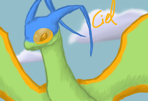 Ciel the flygon by PeaceArt79