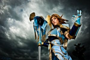 Healing power! by azka-cosplay