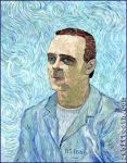 Van Gogh Inspired Hannibal Lecter by Rabittooth